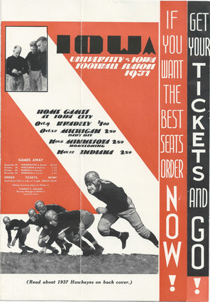 1937 Ticket Brochure