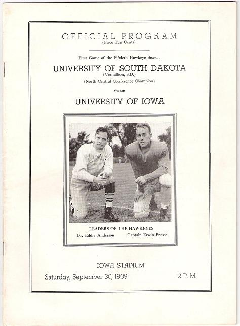 39 South Dakota Program