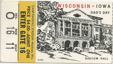 1959 @ Wisconsin Ticket