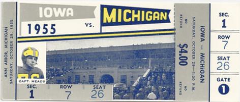 1955 @ Michigan Ticket