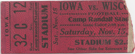 1924 @ Wisconsin Ticket