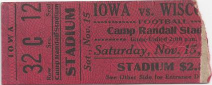 1924 @ Wisconsin Ticket