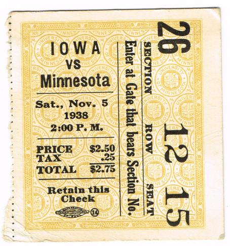38 @ Minnesota Ticket