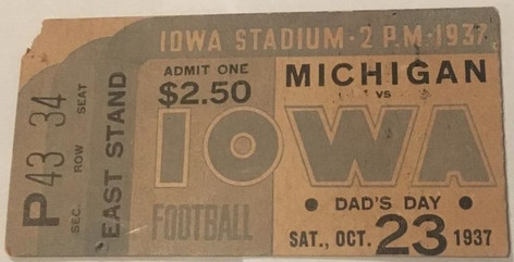37 Michigan Ticket