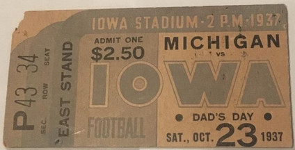 37 Michigan Ticket