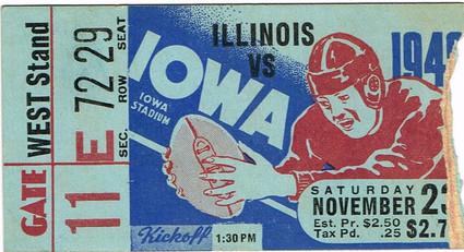1940 Illinois Ticket