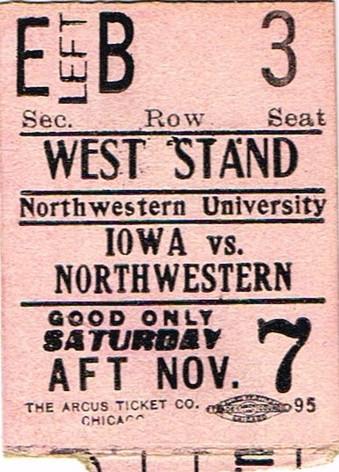 1914 @ Northwestern Ticket