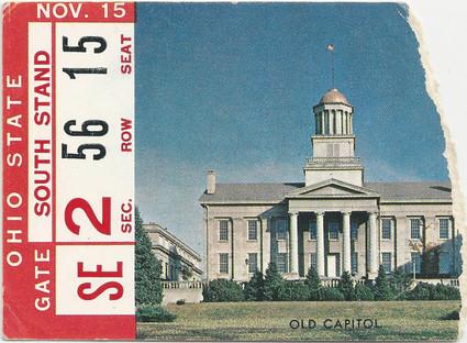 1958 Ohio St Ticket