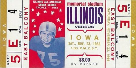 1968 @ Illinois Ticket