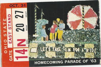 1964 Ohio St Ticket