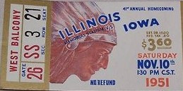 1951 @ Illinois Ticket