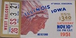 1951 @ Illinois Ticket