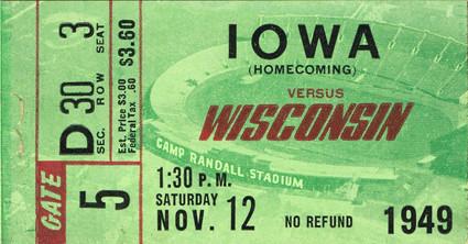 1949 @ Wisconsin Ticket