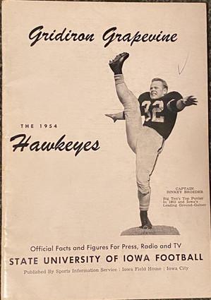 1954 media guide