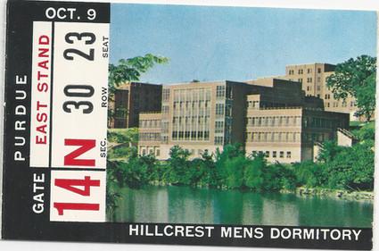 1965 Purdue Ticket