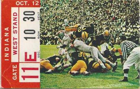 1963 Indiana Ticket