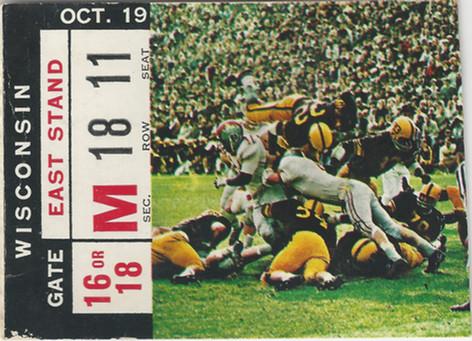 1963 Wisconsin Ticket