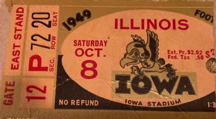 1949 Illinois Ticket
