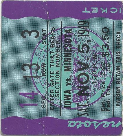 1949 @ Minnesota Ticket