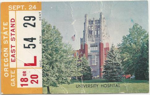 1960 Oregon St Ticket