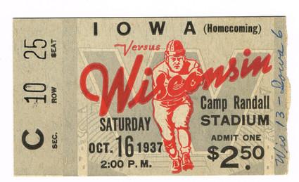 37 @ Wisconsin Ticket