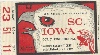 1961 @ Southern California Ticket