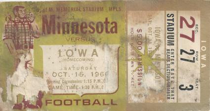 1966 @ Minnesota Ticket