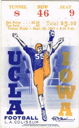 1947@ UCLA Ticket