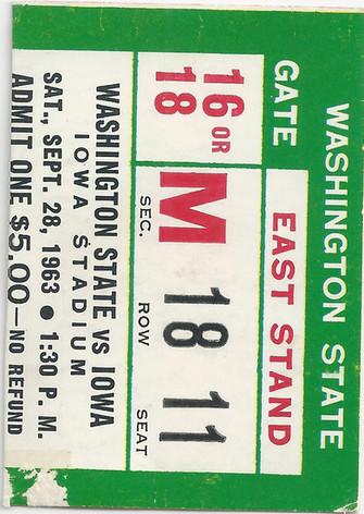 1963 Washington St Ticket