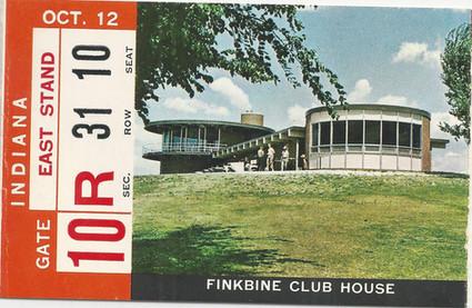1968 Indiana Ticket