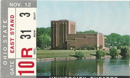 1966 Ohio St Ticket