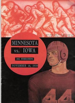 39 Minnesota Program Special Edition 1.J