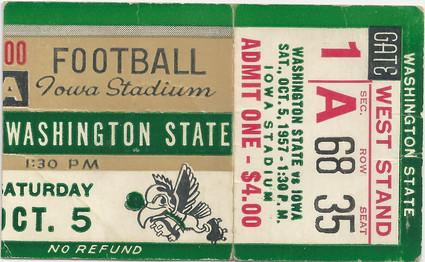 1957 Washington St Ticket
