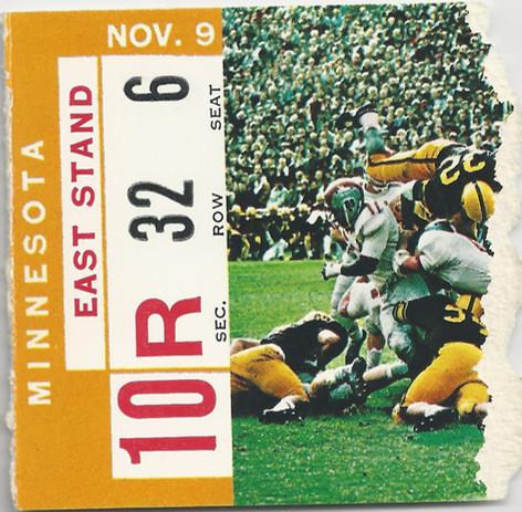 1963 Minnesota Ticket