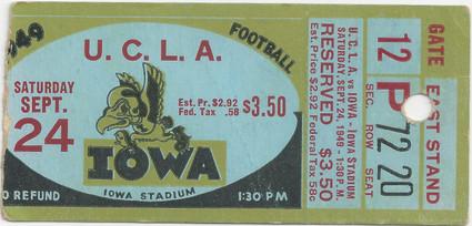 1949 UCLA Ticket