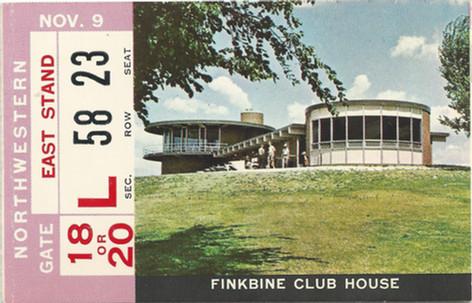 1968 Northwestern Ticket