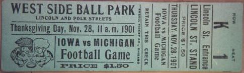 1901 @ Michigan Ticket