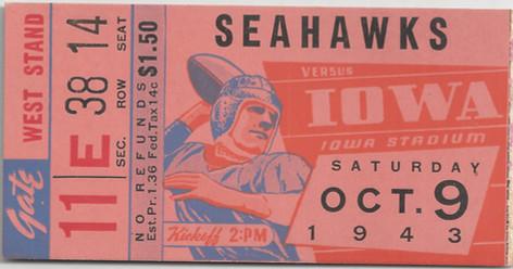 1943 Preflight Ticket