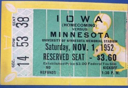 1952 @ Minnesota Ticket
