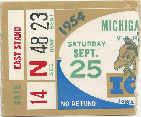 1954 Michigan St Ticket