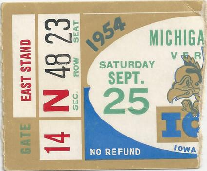 1954 Michigan St Ticket