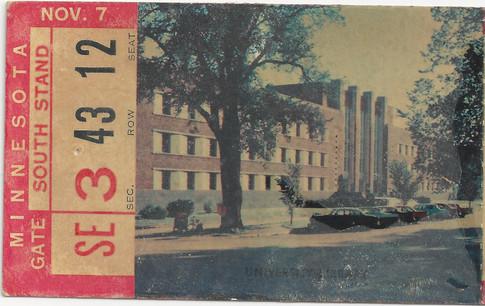 1959 Minnesota Ticket