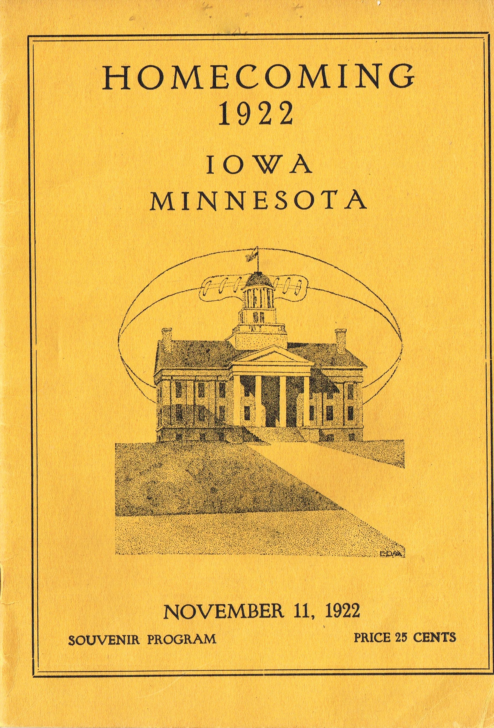 1922 Minnesota