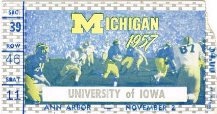 1957 @ Michigan Ticket