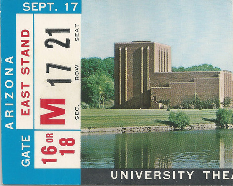 1966 Arizona Ticket