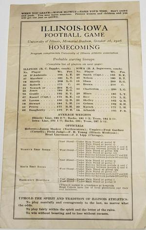 1926 @ Illinois 2nd