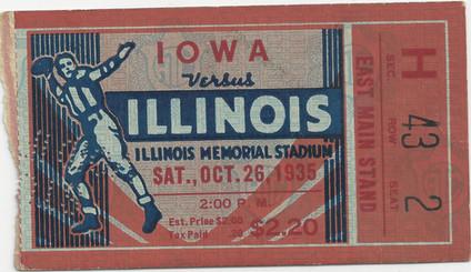 1935 @ Illinois Ticket