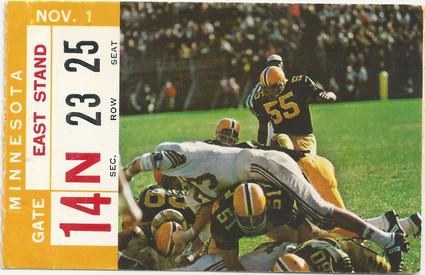 1969 Minnesota Ticket