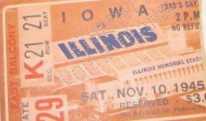1945 _ Illinois Ticket