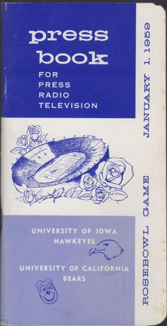 1959 rose bowl media guide